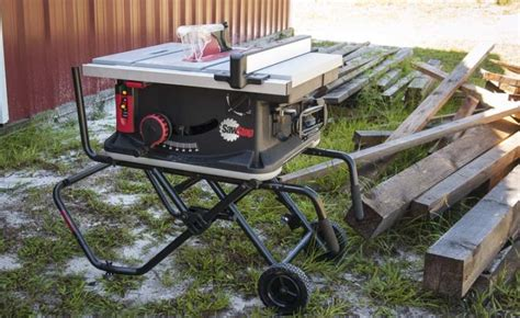 professional table saw reviews sawstop jobsite table saw review jss mca ptr