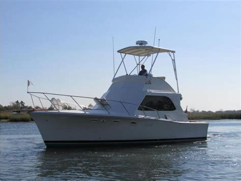 Egg Harbor Boats For Sale Ny by 1971 Egg Harbor 33 Flybridge Convertable Powerboat For