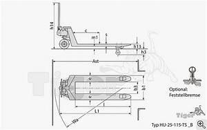Zimmertüren Maße Norm : standard hubwagen traglast 2 5t gabell nge mm tigerhebezeuge tiger transportger te ~ Orissabook.com Haus und Dekorationen