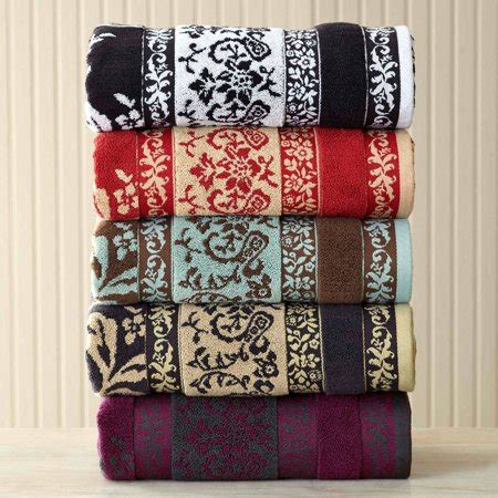 homes  gardens tulip scroll towel collection