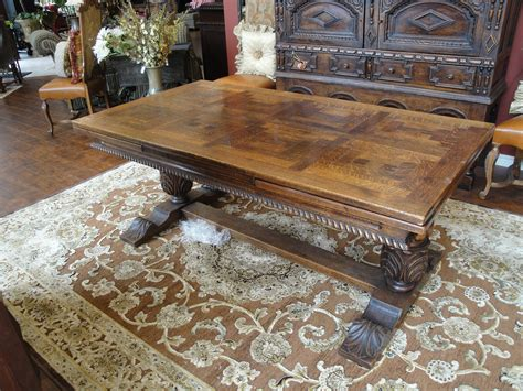 antique dining for sale 19th century oak trestle draw leaf dining for sale