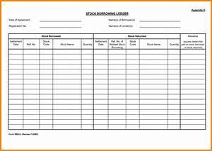 stock transfer ledger template - 5 stock transfer ledger template ledger review