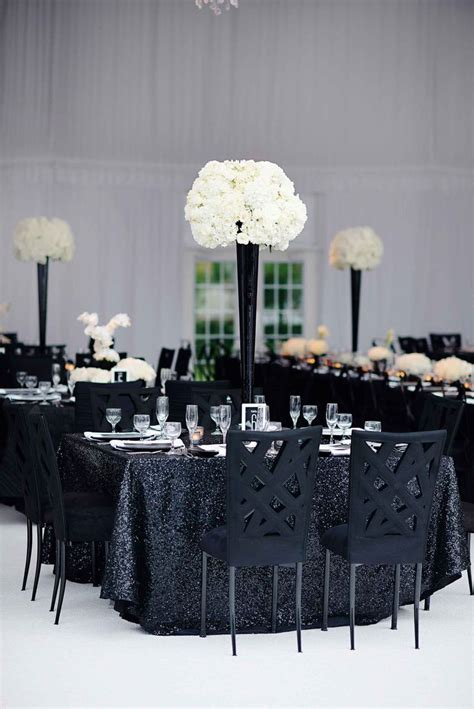 unique black and white wedding ideas black and white modern wedding with unique details in