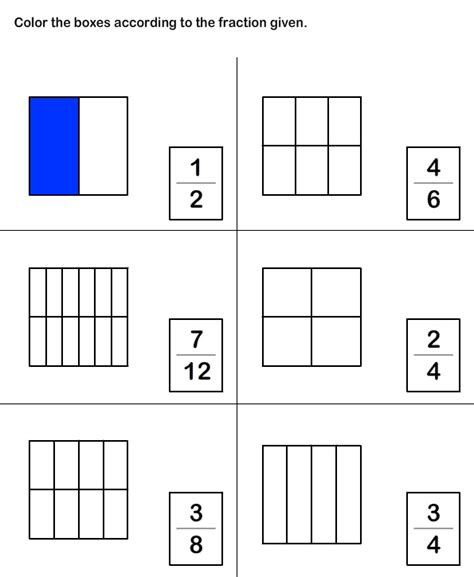 Naming Fractions Worksheets Grade 2  Fractions Worksheets Learn Html And On Pinterestfractions