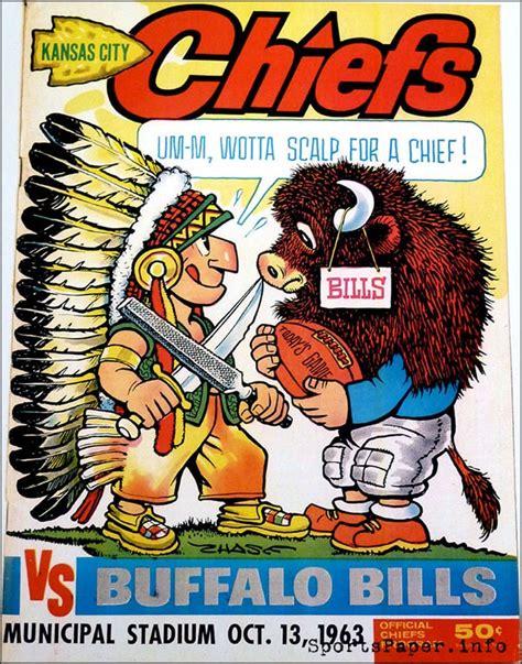 afl program kansas city chiefs  buffalo bills october