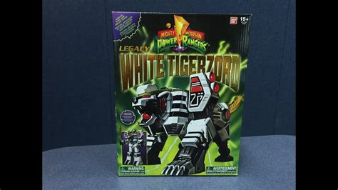 Mighty Morphin' Power Rangers - Legacy WHITE TIGERZORD ...