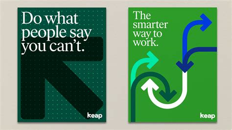 brand new new name logo and identity for keap by pentagram