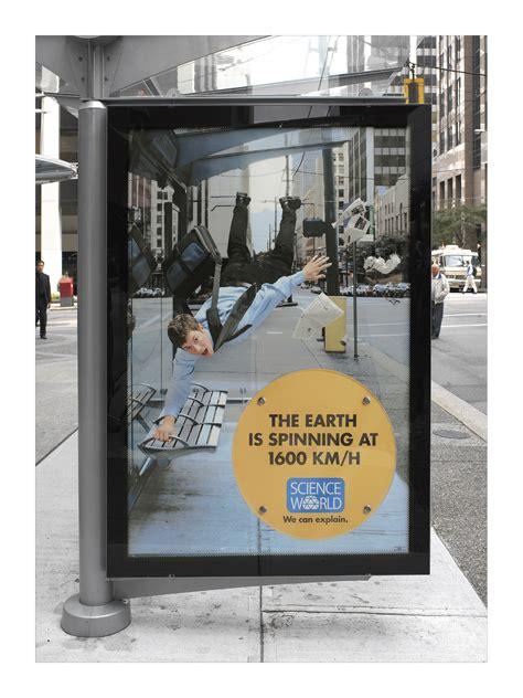 creative science museum ads designbump
