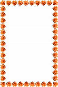 orange fram png | frame cutouts roses by anjana on march ...