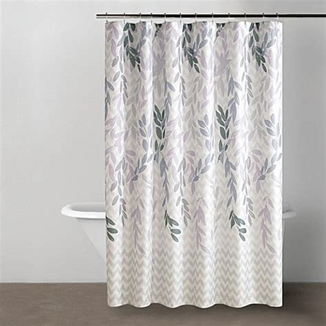 dkny shower curtain dkny willow shower curtain bed bath beyond