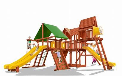 Playground Swing Clipart Drawing Sets Playsets Megaset