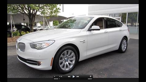 2011 Bmw 550i Xdrive by 2011 Bmw 550i Gran Turismo Xdrive Start Up Exhaust And