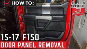 2015-2020 F-150 Door Panel Removal Tutorial