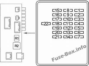 Fuse Box Diagram  U0026gt  Lexus Ls430  Xf30  2000