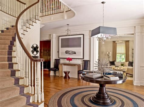Round Foyer Table Entryway Decorating Ideas Interior Designs