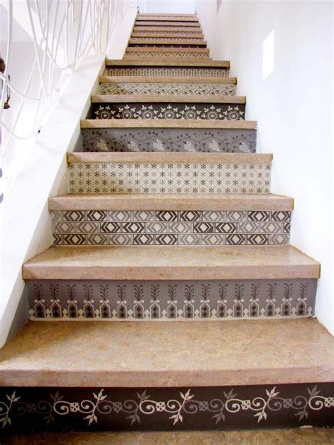 style tile on stair studio design gallery best design