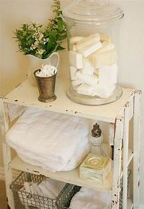 Making toiletries part of your bathroom decor hometalk for How to make vintage bathroom designs for your homes