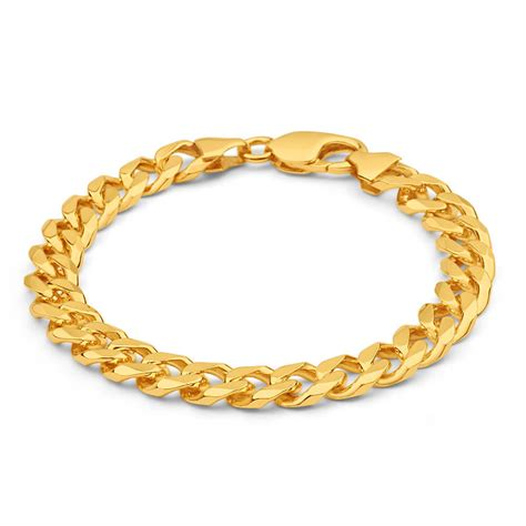 Mens Solid 8 12 Inch 9ct Gold Curb Bracelet 45 Grams. Vintage Chains. Eternity Band Ring. Floral Bands. Bird Cage Necklace. Cushion Engagement Rings. Multi Bracelet. Classic Engagement Rings. Pave Wedding Band