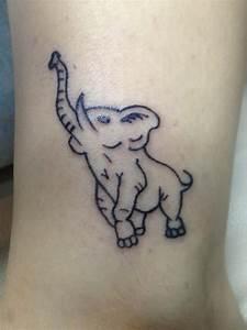 38+ Trunk Up Elephant Tattoos