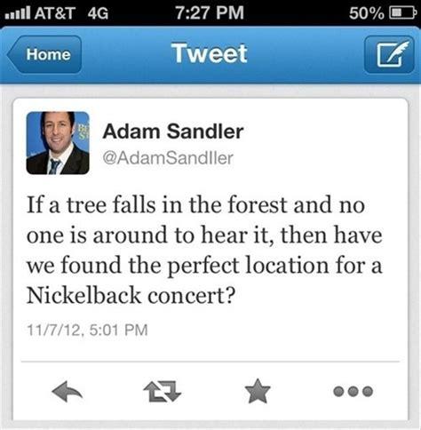funny adam sandler tweets quotes  day