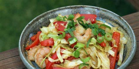 The technique originated in china and in recent centuries has spread into other parts of asia. Diabetic Foodie (@diabeticFoodie) on Twitter   Cabbage stir fry, Shrimp recipes healthy, Veggie ...