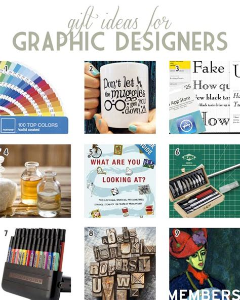 gifts for graphic designers gift ideas for graphic designers that they might actually