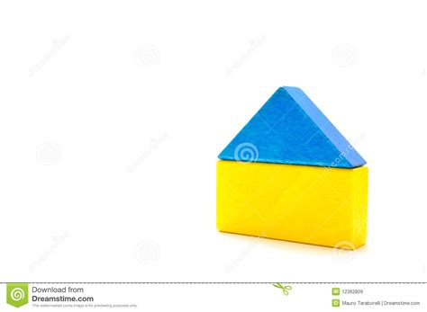 house made of blocks house made of wooden blocks royalty free stock images image 12362809