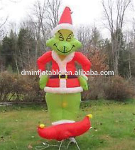 grinch outdoor decorations grinch yard decorations pictures to pin on