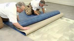 Forbo marmoleum sheet installation video youtube for How to install linoleum floor in bathroom