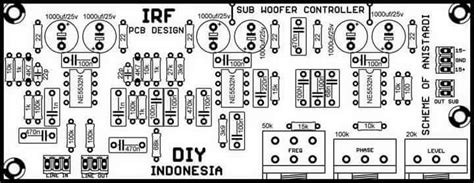 Pcb Layout Schematic Subwoofer Controller