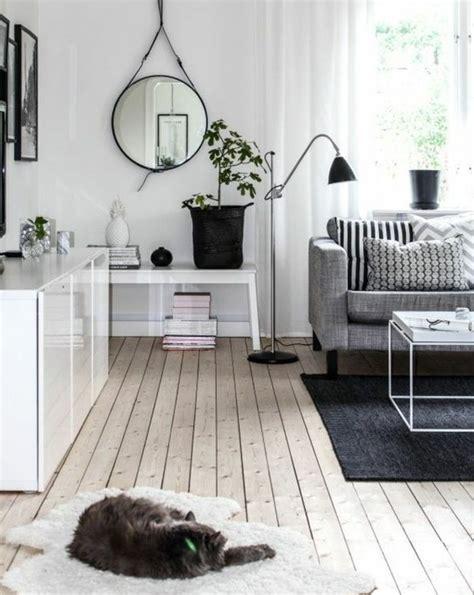 quel tapis avec canapé gris un salon en gris et blanc c 39 est chic voilà 82 photos qui