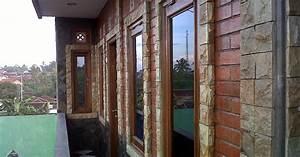 Dinding Rumah Semakin Cantik Dengan Batu Alam