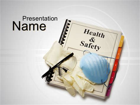 health  safety powerpoint template backgrounds