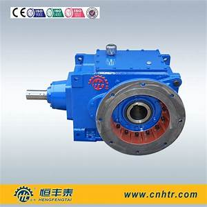 China B Series High Speed Helical Bevel Reduction Gearbox