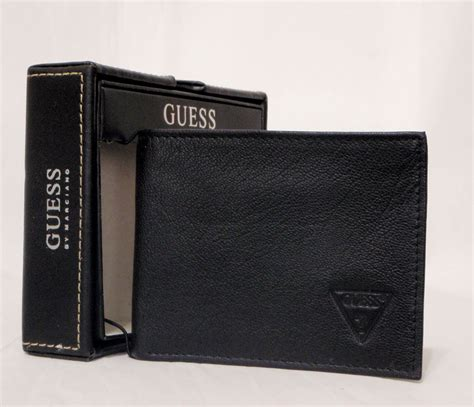 boutique malaysia guess mens wallet bifold item