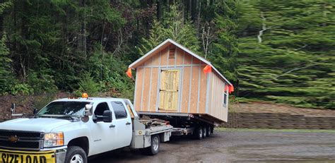mule v shed mover northwest shed movers cabin shed gazebo and barn moving