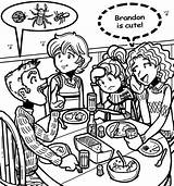 Brandon Dork Diaries Coloring Pages Nikki Dinner Diary Printable Came Happened March Wikia Sheets Print Activity  Shelter Via Dorkdiaries sketch template