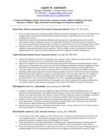 corporate counsel resume attorney and resume