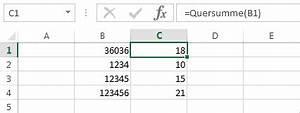 Produktivität Berechnen : excel vba quersumme berechnen denis reis ~ Themetempest.com Abrechnung