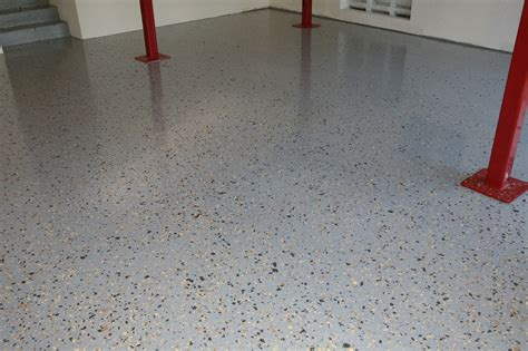 garage floor paint with sand ucoat it do it yourself epoxy floor coating kit install hot rod network