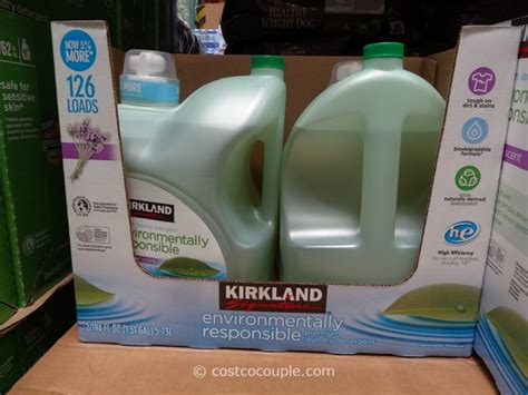 61587 Washing Powder Coupons by Kirkland Signature Eco Friendly Laundry Detergent