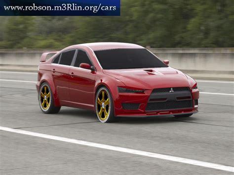 Mitsubishi Evo 11 Mitsubishi Lancer Evolution Xi Rendered U Design