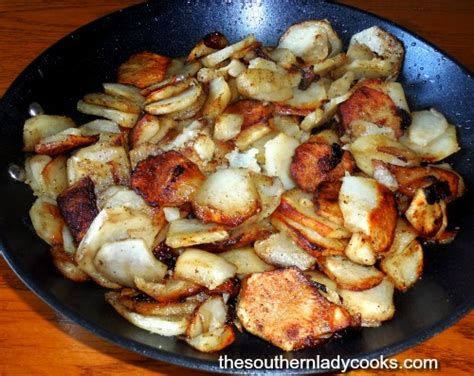 country fried potatoes country fried potatoes the southern lady cooks