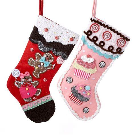 christmas stockings  gingerbread man  cupcake