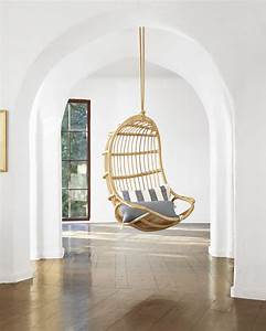 Hanging Rattan Chair - Chairs Serena and Lily