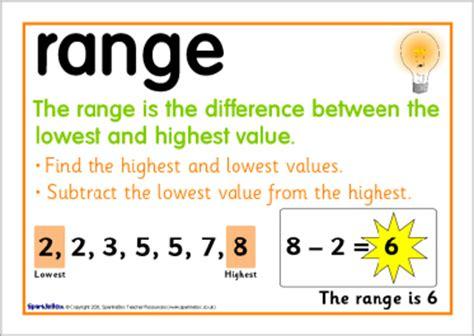 range median and mode median mode and range posters sb6779 sparklebox