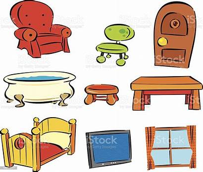 Household Items Vector Illustration Istock