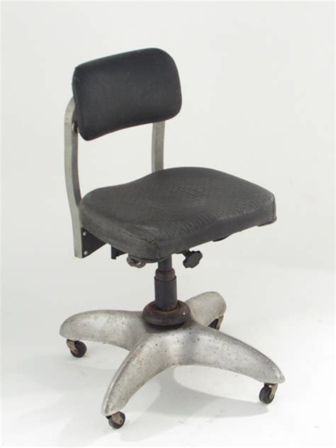 goodform metal office chair vintage by vintagefurnitureme