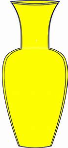 Yellow Vase Clip Art at Clker.com - vector clip art online ...