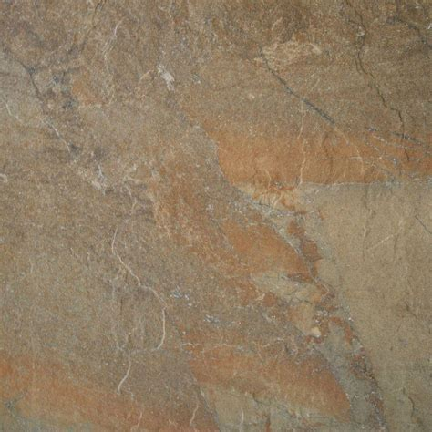 rustic porcelain tile daltile ayers rock rustic remnant 20 in x 20 in glazed porcelain floor and wall tile 13 72 sq